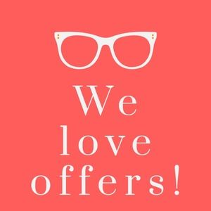 We love to get offers!